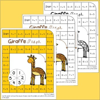 Graphing Addition Facts