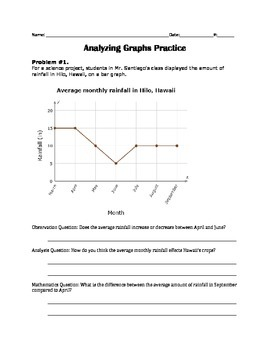 Graphing Analysis Packet