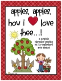 Graphing:  Apples, Apples, How I Love Thee...An Apple Graph, Full Of Variety!