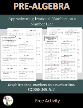 Graphing Approximations of Irrational Numbers