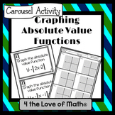 Graphing Absolute Value Functions: Carousel Activity