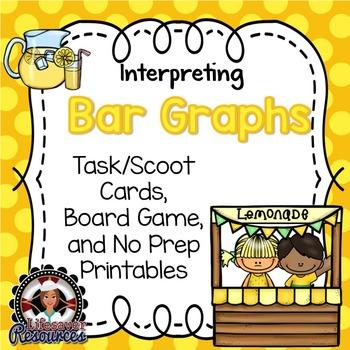 Bar Graphs Game and No Prep Printables