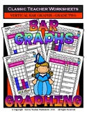 Graphing - Bar Graphs (Vertical) - Grade Two (2nd Grade) - Worksheets/Test