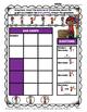 Graphing - Bar Graphs (Vertical) - Kindergarten - Worksheets/Test