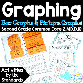 Graphing: Bar Graphs and Picture Graphs 2.MD.D.10 Common Core Math 2nd Grade