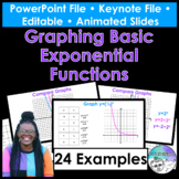 Graphing Basic Exponential Functions PowerPoint/Keynote Pr