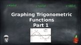 Graphing Basic Trigonometric Functions - PowerPoint and Notes