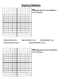 Graphing Battleship Game: Ordered pairs on a coordinate plane