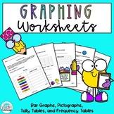Graphing Worksheets Bundle