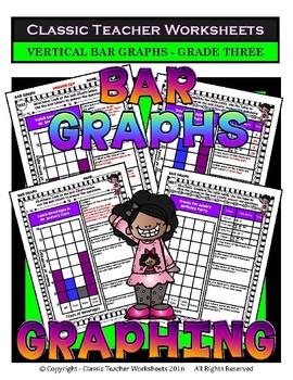 Graphing Bundle - Set 1 - 3rd Grade (Grade Three)