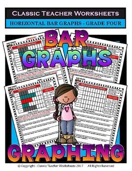 Graphing Bundle - Set 1 - 4th Grade (Grade Four)