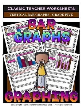 Graphing Bundle - Set 1 - 5th Grade (Grade Five)