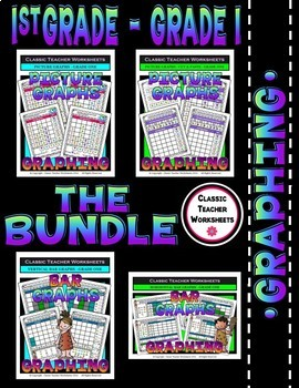 Graphing Bundle - Set 1 - 1st Grade - Grade One