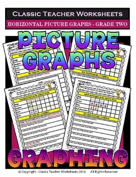 Graphing Bundle - Set 1 - 2nd Grade (Grade Two)