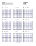 Graphing Bundle (x6)