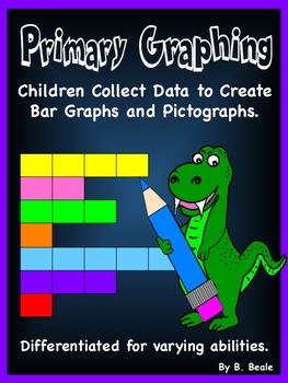 Graphing (Bundled) - Primary Graphing - 108 pages - Canadi