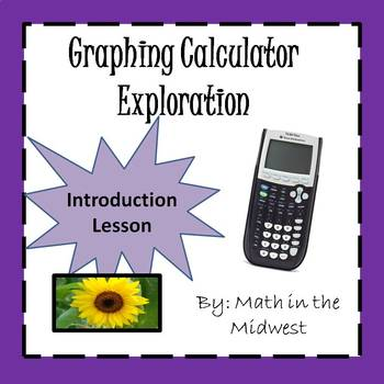 Graphing Calculator Explortation {Introduction Lesson}