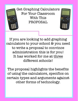 Graphing Calculator Proposal