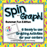 Summer Fun Math Centers for Graphing (Data Management)