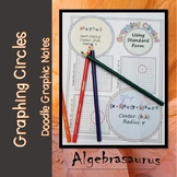 Graphing Circles using Standard Form Doodle Notes
