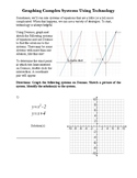 Graphing Complex Systems Using Desmos