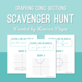 Graphing Conic Sections Scavenger Hunt
