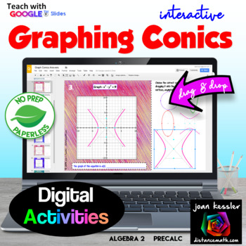 Graphing Conic Sections with GOOGLE Slides™