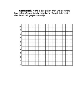 Graphing - Cooperative In-class Graphing Project