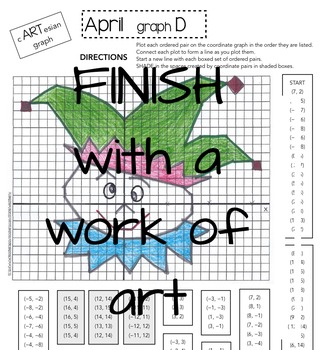 Graphing Activity - APRIL