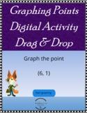 Graphing Coordinate Plane - Digital Activity Drag & Drop -