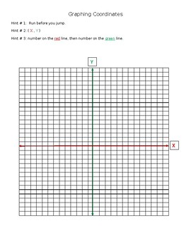 Graphing Coordinates