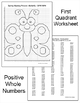 Coordinate Graphing Ordered Pairs Bundle: Winter, Spring & Fall Math Activities