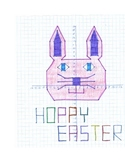 Graphing Coordinates Picture: Easter Bunny
