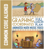 Coordinate Plane Activities ★ Musical Lesson ★ with Coordinate Graphing Pictures