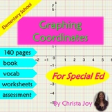 Graphing Coordinates Unit for Special Education with lesson plans