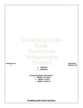 Graphing Cube Root Functions Infographic Project