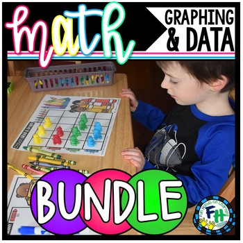 Graphing & Data Activity Centers {8 Centers}