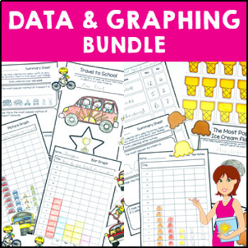 Graphing Data Pack Bundle survey graph interpret