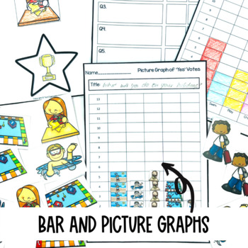 Graphing Data Pack What will you do on summer holidays? survey graph interpret