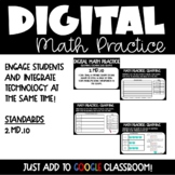 Graphing Digital Math Practice for 2nd Grade