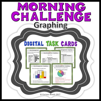 Graphing Digital Task Cards