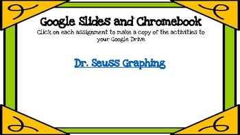 Graphing (Dr Seuss Inspired)-A Digital Math Center (Compatible with Google Apps)