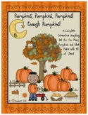 Graphing:  Enough Pumpkins!  A Graphing Set from Pumpkin to Table!