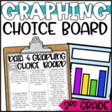 Graphing Enrichment Activities for 3rd Grade - Choice Boar