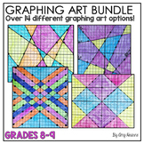 Graphing Linear Equations Art Bundle