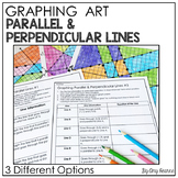 Graphing Equations Stained Glass Art: Parallel and Perpendicular Lines
