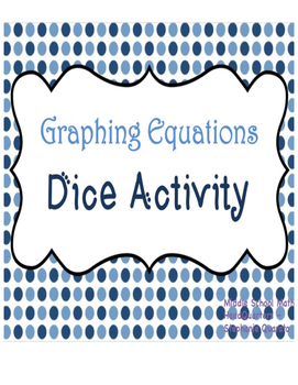 Graphing Equations Dice Activity