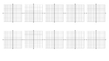Graphing Equations Graphic Organizer