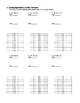 Graphing Equations in Standard Form by Finding Intercepts - Notes