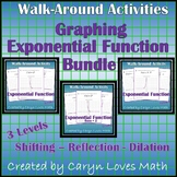 Graphing Exponential Equations/Functions Activity Bundle